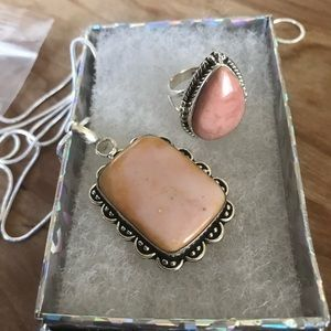 Jewelry - 🌺Gorgeous new Ocean Jasper necklace and Ring